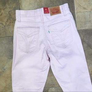 Levi's Jeans - NWT Levi's Pastel Pink High Rise Ankle Skinny 25